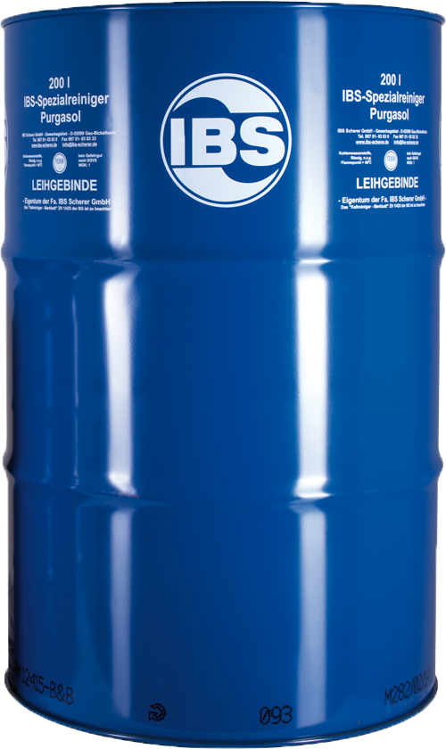 IBS-Special Cleaner Purgasol 200 l - IBS Scherer GmbH