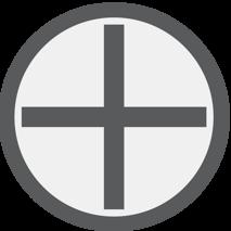 Křížová drážka PH