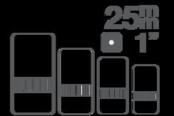 Vložka – sortiment 25 mm (1