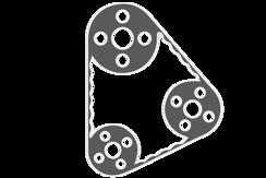Ozubený / klínový / žebrový klínový řemen