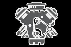 Motor a dodatečně montované díly