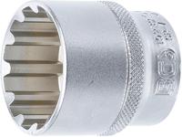 """- S Antrieb Innenvierkant 6,3 mm Steckschlüssel-Einsatz Gear Lock 1//4/"""" tief"""