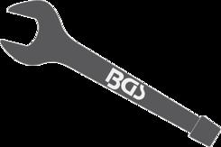 Rázový plochý klíč