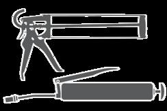 Pistole na kartuše a mazací lisy