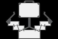 Kufřík na nářadí a tašky (univerzální)