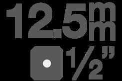 """Bitové vložky 12,5 mm (1/2"""")"""