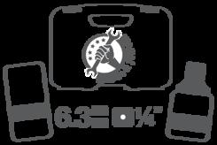 Vložky pro nástrčné klíče 6,3 mm (1/4