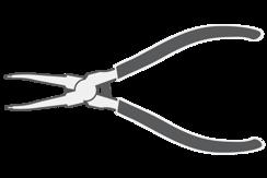 Kleště na pojistné kroužky
