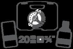 """Vložky pro nástrčné klíče 20 mm (3/4"""")"""
