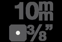 """Bitové vložky 10 mm (3/8"""")"""