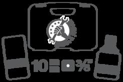 Vložky pro nástrčné klíče 10 mm (3/8
