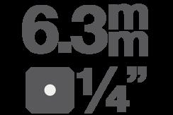 Bitové vložky 6,3 mm (1/4